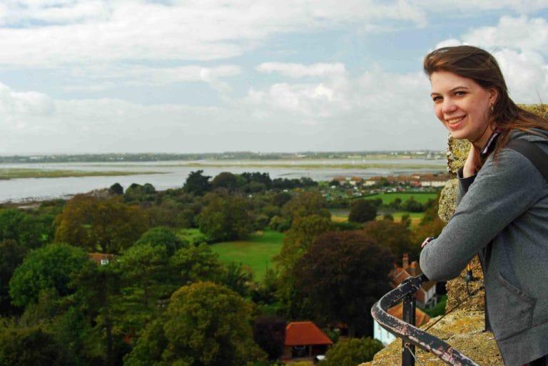 Scio Study Abroad Portchester Castle View