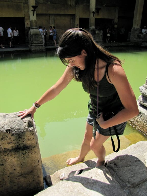 Scio Study Abroad Roman Baths Testing The Waters