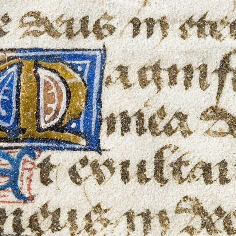 Scio Logos Illuminated Manscript Magnificat