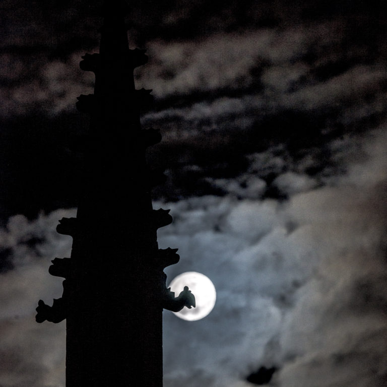 Full Moon And Clouds 36