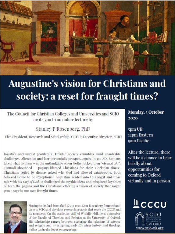 Augustine City Of God Flyer Image