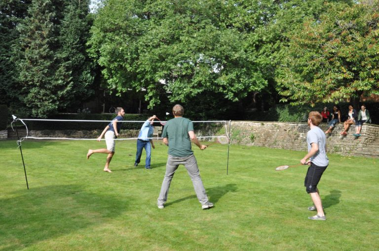 Scio The Vines Student Residence Garden Badminton